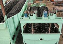 螺旋洗礦機